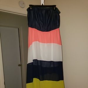 Dresses & Skirts - Strapless Maxi Dress